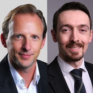 Dr. Marcus Hochhaus, Geschäftsführer und Partner Goldmedia Andrej Sosedow-Yu, Consultant Goldmedia