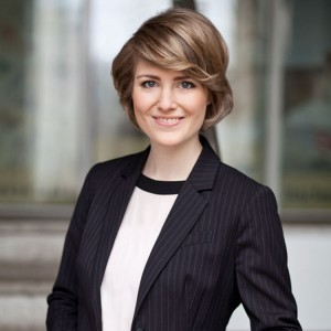 Elena Pelzer, Preisträgeinr Goldmedia-Preis für innovative Abschlussarbeiten im Bereich Medienwirtschaft 2016