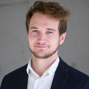 Pascal Schneiders, ausgezeichnet mit dem Goldmedia-Preis für innovative Abschlussarbeiten im Bereich Medienwirtschaft 2018