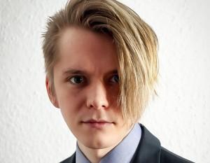 Marcel Proppe, ausgezeichnet mit dem Goldmedia-Preis für innovative Abschlussarbeiten im Bereich Medienwirtschaft 2018