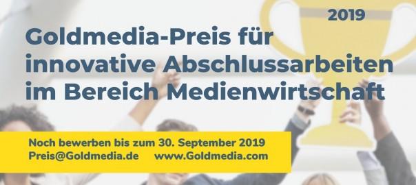 Goldmedia-Preis Medienwirtschaft 2019_Visual